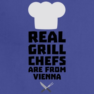 Real Grill Chefs are from Vienna S9rm1 Aprons - Adjustable Apron