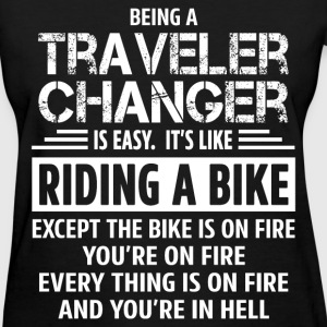 Traveler Changer T-Shirts - Women's T-Shirt