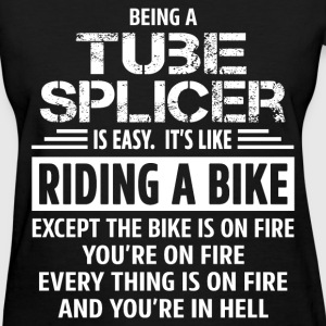Tube Splicer T-Shirts - Women's T-Shirt