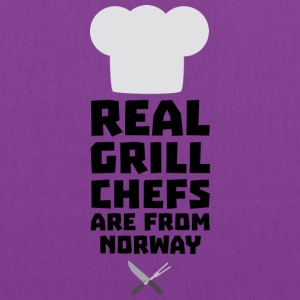 Real Grill Chefs are from Norway S8cv1 Bags & backpacks - Tote Bag