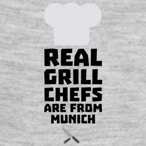 Real Grill Chefs are from Munich S955j Baby Bodysuits - Baby Contrast One Piece