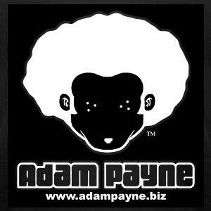 Adam Payne Logo Black T - Men's T-Shirt by American Apparel