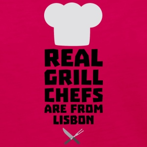 Real Grill Chefs are from Lisbon S90i2 Long Sleeve Shirts - Women's Premium Long Sleeve T-Shirt