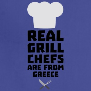 Real Grill Chefs are from Greece S75zj Aprons - Adjustable Apron