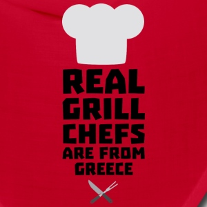 Real Grill Chefs are from Greece S75zj Caps - Bandana