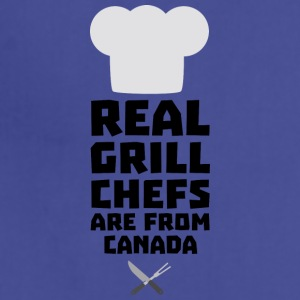 Real Grill Chefs are from Canada S0t73 Aprons - Adjustable Apron