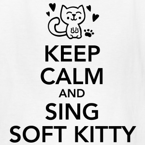 Keep calm and sing soft kitty Kids' Shirts - Kids' T-Shirt