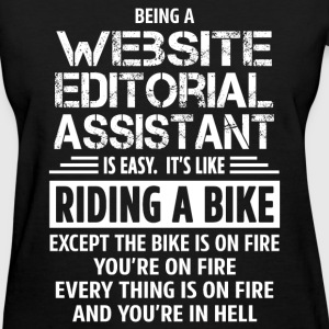 Website Editorial Assistant - Women's T-Shirt