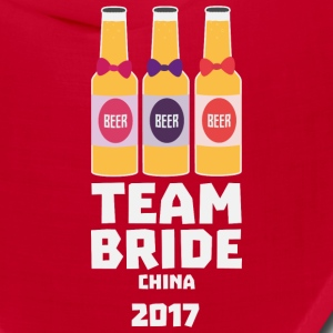 Team Bride China 2017 S45g8 Caps - Bandana