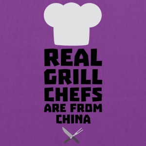 Real Grill Chefs are from China Si775 Bags & backpacks - Tote Bag