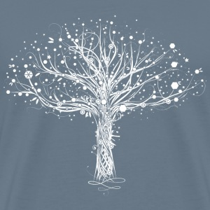A white tree T-Shirts - Men's Premium T-Shirt