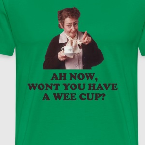 Wont you have a wee cup? - Men's Premium T-Shirt