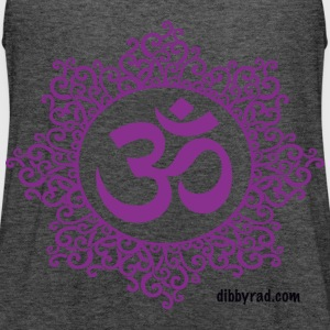 OM gray tank - Women's Flowy Tank Top by Bella