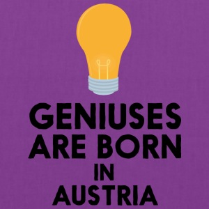 Geniuses are born in AUSTRIA Slli8 Bags & backpacks - Tote Bag