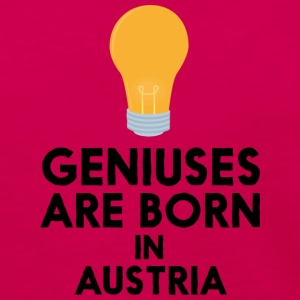 Geniuses are born in AUSTRIA Slli8 Long Sleeve Shirts - Women's Premium Long Sleeve T-Shirt