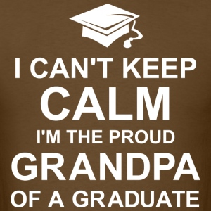 Keep Calm Graduation Grandpa T-Shirts - Men's T-Shirt