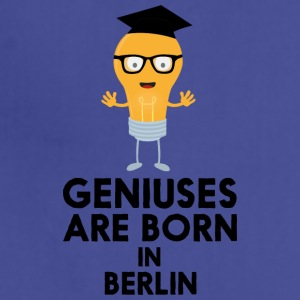 Geniuses are born in BERLIN Shf59 Aprons - Adjustable Apron