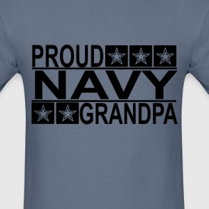 proud_navy_grandpa_ - Men's T-Shirt