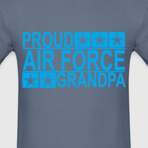 proud_air_force_grandpa_ - Men's T-Shirt