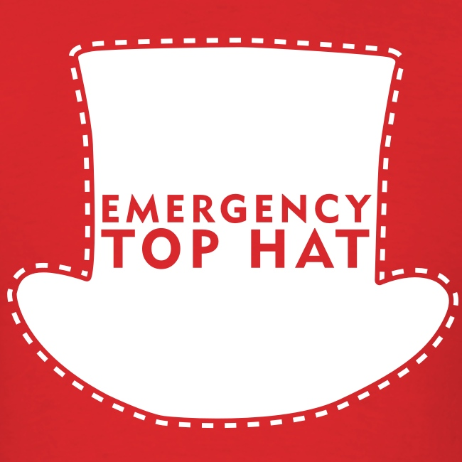 EMERGENCY TOP HAT (American Apparel)