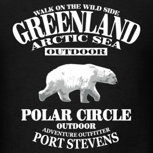 Polar Bear - Greenland T-Shirts - Men's T-Shirt
