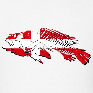Denmark Fishing Banner T-Shirts - Men's T-Shirt