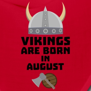 Vikings are born in August S7ged Caps - Bandana