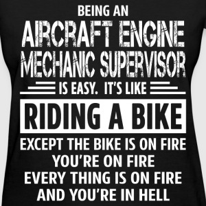 Aircraft Engine Mechanic Supervisor - Women's T-Shirt