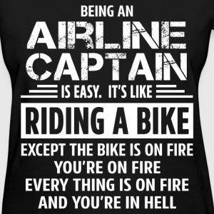 Airline Captain - Women's T-Shirt