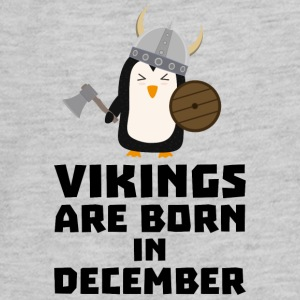 Vikings are born in December Sl9w1 Kids' Shirts - Kids' Premium Long Sleeve T-Shirt
