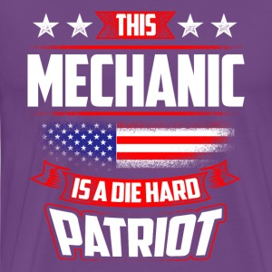 4th Of July Mechanic Die Hard Patriot Shirt Gift T-Shirts - Men's Premium T-Shirt