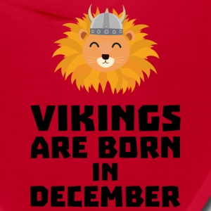 Vikings are born in December S0oki Caps - Bandana