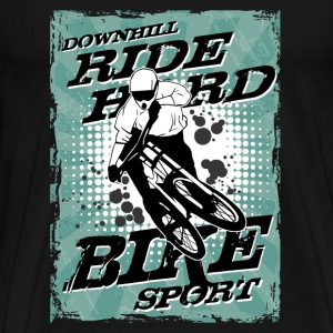 MTB - Downhill - Moutainbiking T-Shirts - Men's Premium T-Shirt