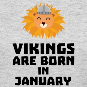 Vikings are born in January Sva42 Long Sleeve Shirts - Women's Long Sleeve Jersey T-Shirt