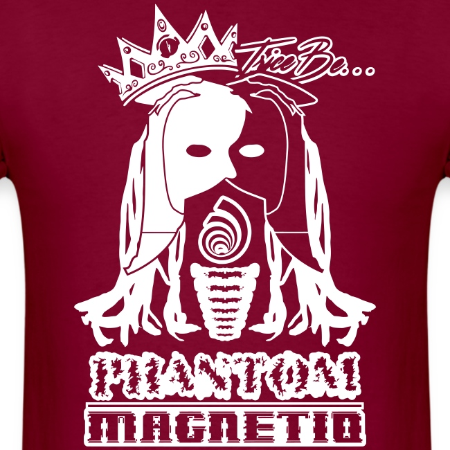 Trice Be Phantom Magnetiq (Men's  50/50 T-shirt w/ white print)