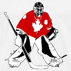 Hockey Keeper - Canada T-Shirts - Men's Premium T-Shirt