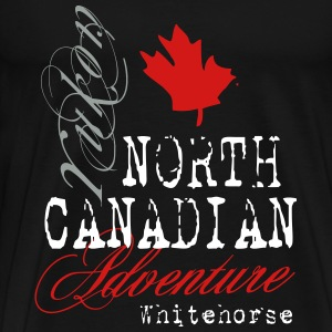 Yukon Adventure - Maple Leaf T-Shirts - Men's Premium T-Shirt