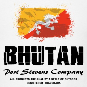 Bhutan Flag Logo T-Shirts - Men's T-Shirt