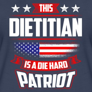 4th Of July Dietitian Patriot Shirt Gift T-Shirts - Women's Premium T-Shirt