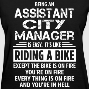 Assistant City Manager - Women's T-Shirt