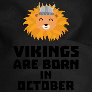 Vikings are born in October S0v8r Other - Dog Bandana