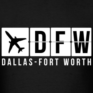 Dallas-Fort Worth Airport T-Shirts - Men's T-Shirt