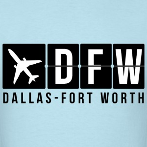 Dallas Fort Worth Airport T-Shirts - Men's T-Shirt