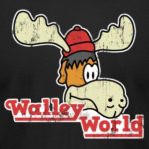 WALLEY WORLD T-Shirts - Men's T-Shirt by American Apparel