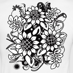 Sunflower_Growth - Men's Ringer T-Shirt