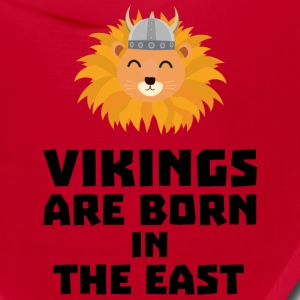 Vikings are born in the East S37dx Caps - Bandana