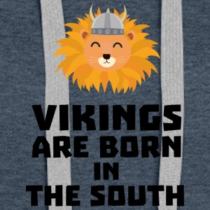 Vikings are born in the South Slbx6 Hoodies - Women's Premium Hoodie