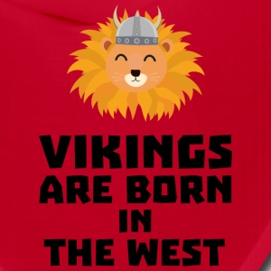 Vikings are born in the West S658h Caps - Bandana
