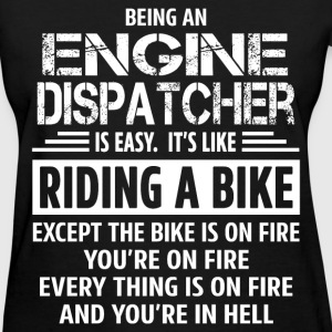 Engine Dispatcher - Women's T-Shirt