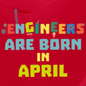Engineers are born in April S5h58 Caps - Bandana